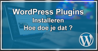 Wordpress plugins installeren