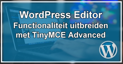 Wordpress TinyMCE Advanced