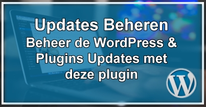 WordPress Updates Beheren