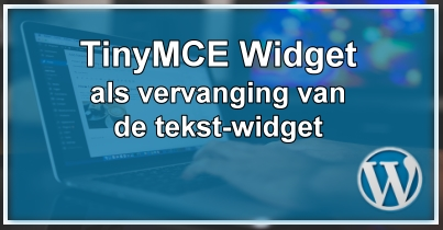 WordPress TinyMCE Widget