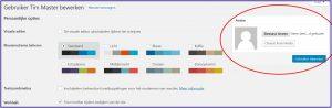 Wordpress Gebruikers-afbeelding Wijzigen