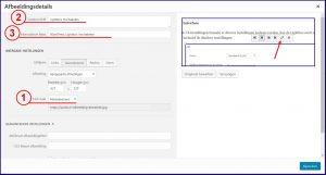 Wordpress lightbox afbeelding bewerken