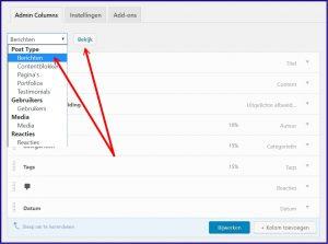 WordPress berichten overzicht aanpassen