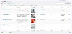 Wordpress aangepaste berichtenlijst