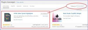 WordPress Html Syntax Highlighter