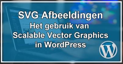 WordPress svg afbeeldingen