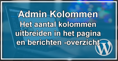 WordPress Admin Kolomment