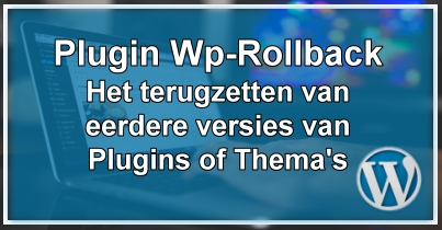 WordPress Plugin & Thema Rollback