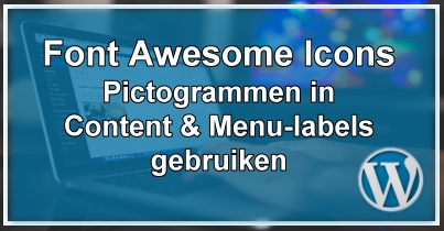 WordPress Pictogrammen