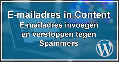 E-Mailadres Invoegen & Verbergen
