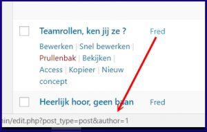 WordPress Gebruikers ID