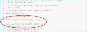 WordPress Automatische Updates