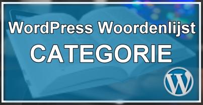 WordPress Categorie
