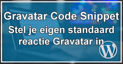 Gravatar Code Snippet