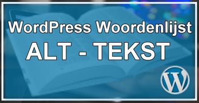 WordPress Alt Tekst