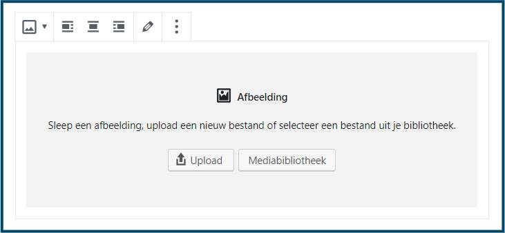 Gutenberg Afbeelding-blok