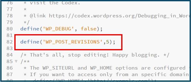 WordPress wp-config.php code toevoegen