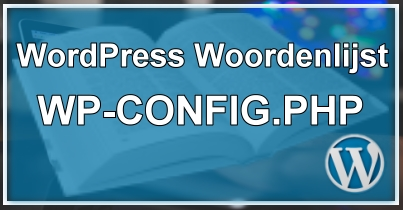 wp-config.php bestand