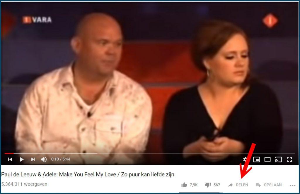 YouTuve Video Delen