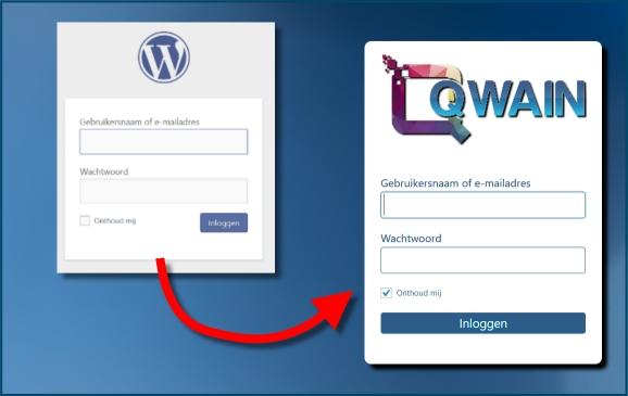 WordPress login scherm aanpassen