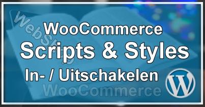 Scripts & Styles In- / Uitschakelen
