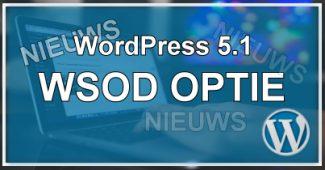 WordPress WSOD-Bescherming