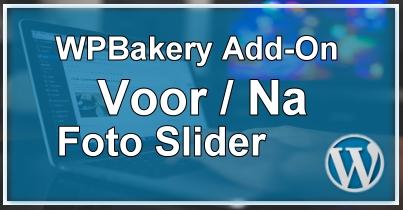 WPBakery Voor Na Foto Slider