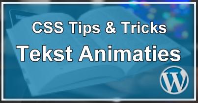CSS Animaties en Effecten