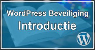 WordPress Beveiliging - De eerste stappen