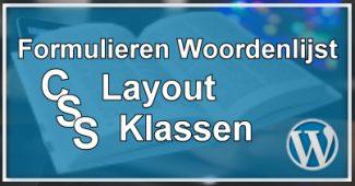 CSS Layout Klassen