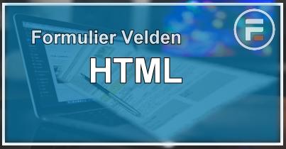 HTML Veld