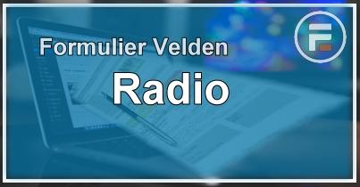 Formulier radiobutton