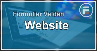 Formulier Veld Website
