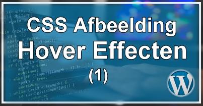 CSS Hover Effecten