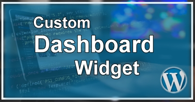 WordPress Eigen Dashboard Widget