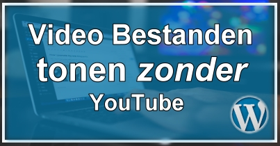 Video's tonen zonder YouTube