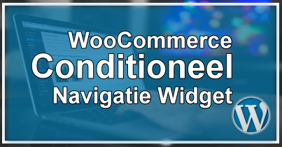 WooCommerce Conditioneel Categorie Menu