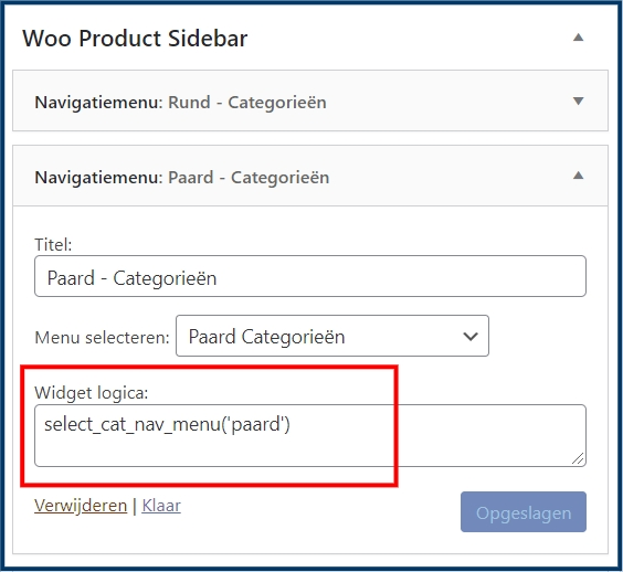 WooCommerce Product Sidebar