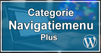 Categorie Navigatiemenu Plus