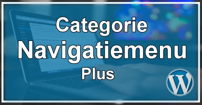 WordPress Categorie Navigatiemenu Plus